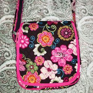 Belvah Floral Crossbody Bag